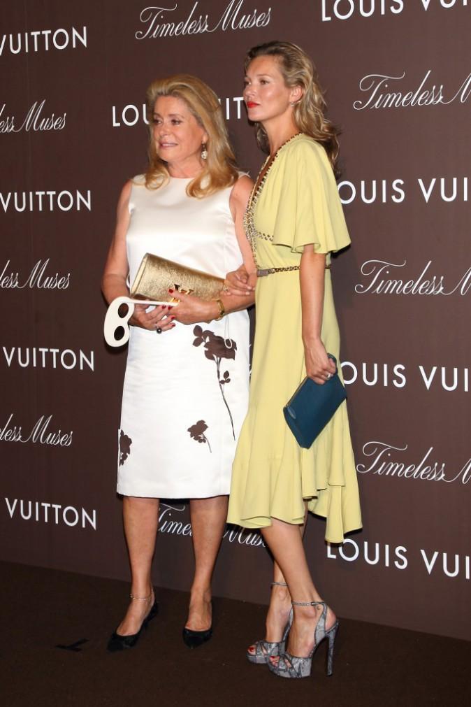 Kate Moss et Catherine Deneuve deux grandes copines