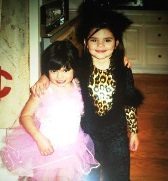 Avec Kendall, à une époque pas si lointaine !