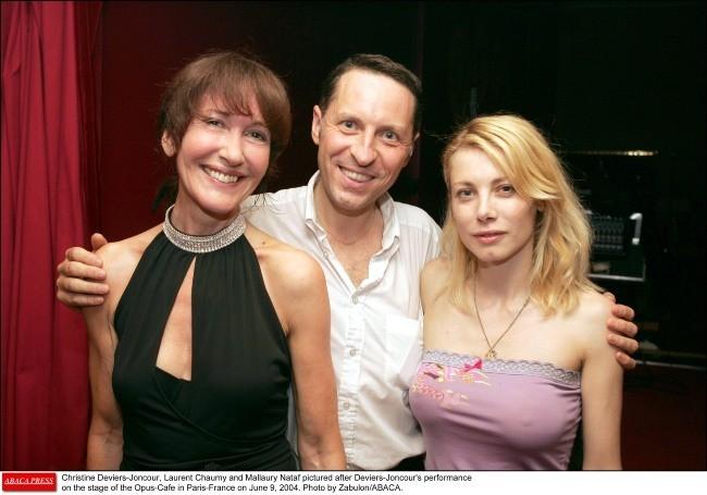 2004 : Avec Christine Deviers-Joncour et Laurent Chaumy