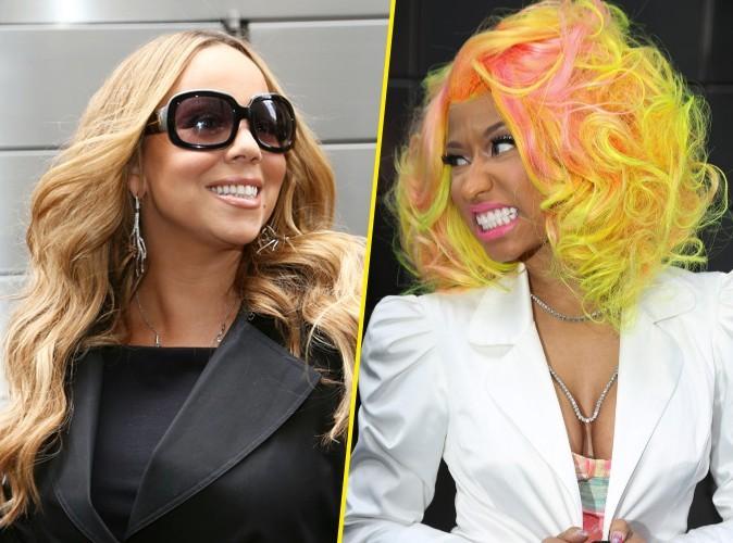 Photos : Mariah Carey : elle avoue avoir augmenté sa sécurité suite aux menaces de Nicki Minaj…