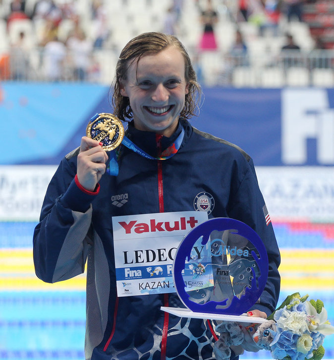 4 - Katie Ledecky (natation)