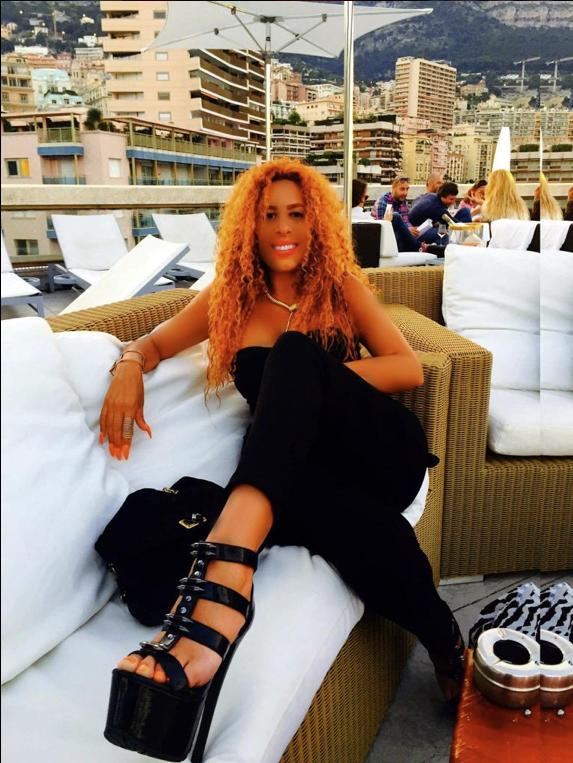 100% hot, Afida Turner fait grimper la température à Monaco !