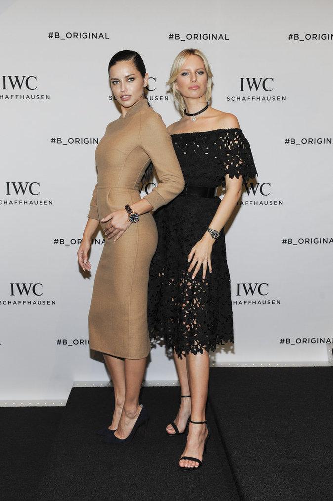 Adriana Lima et Karolina Kurkova ont fait sensation au gala IWC