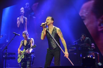 Janvier : Les Depeche Mode jouent à Bercy !