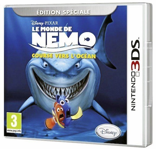 Le monde de Nemo– Course vers l'océan, Nintendo 3DS. 39,90 €.