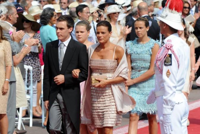 Stéphanie de Monaco et ses 3 enfants