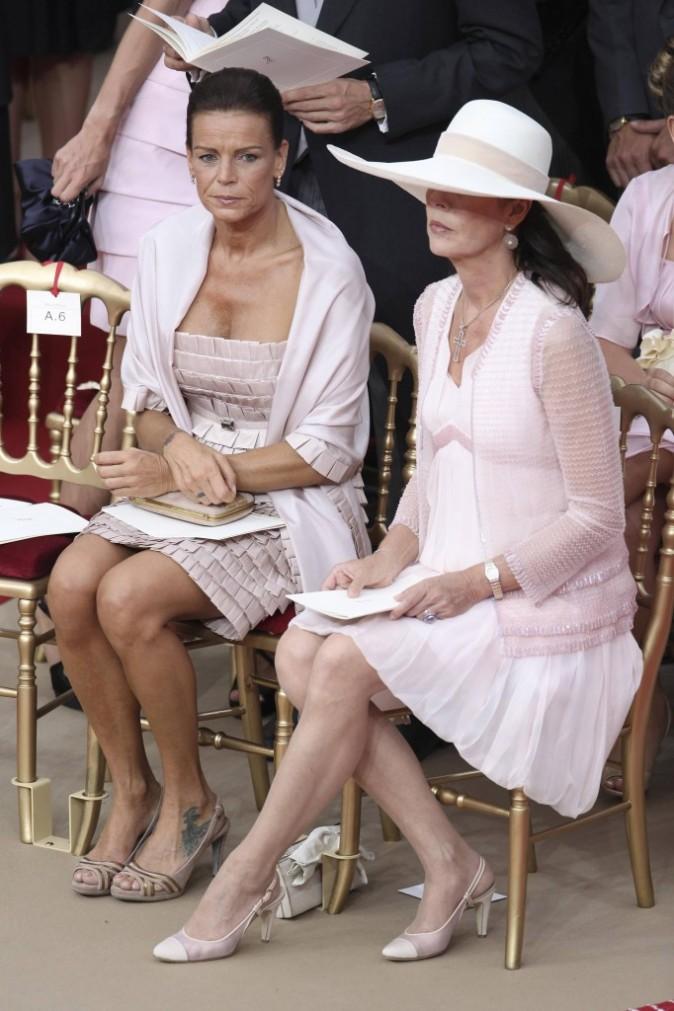 Stéphanie et Caroline de Monaco
