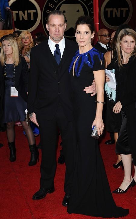 Sandra Bullock adepte du couturier anglais en janvier 2010...