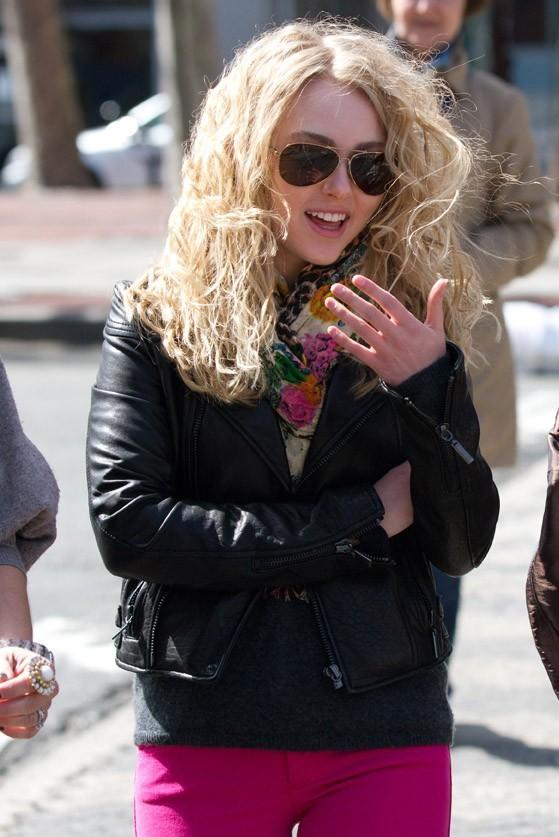Elle a les cheveux de Carrie Bradshaw !