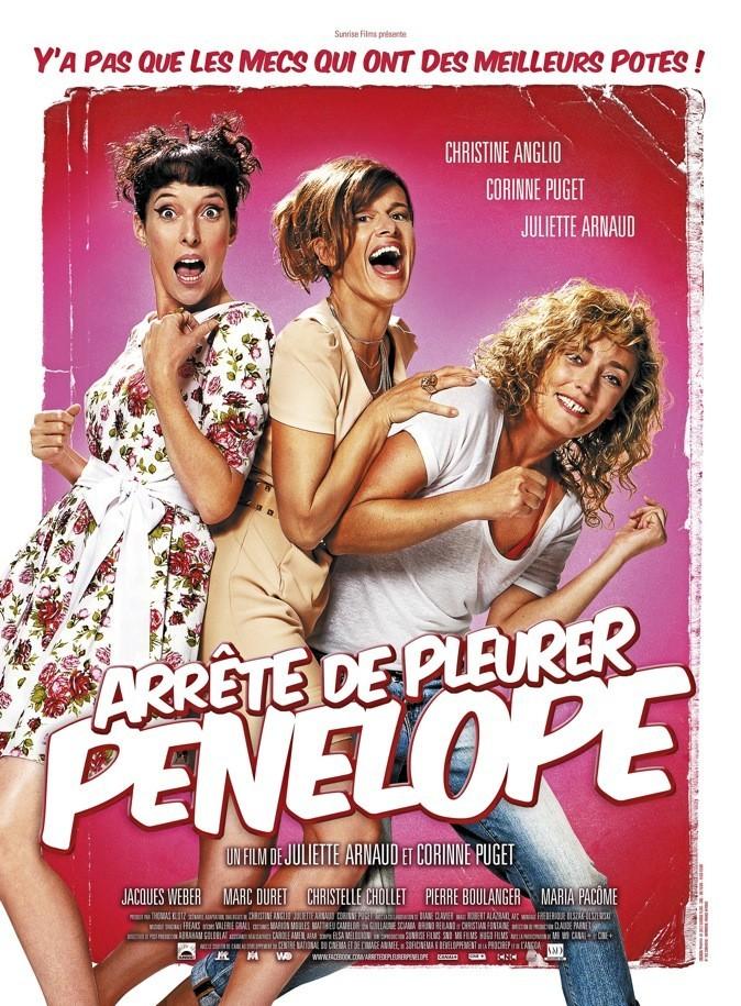 """L'affiche du film """" Arrête de pleure Pénélope"""" de Juliette Arnaud !"""