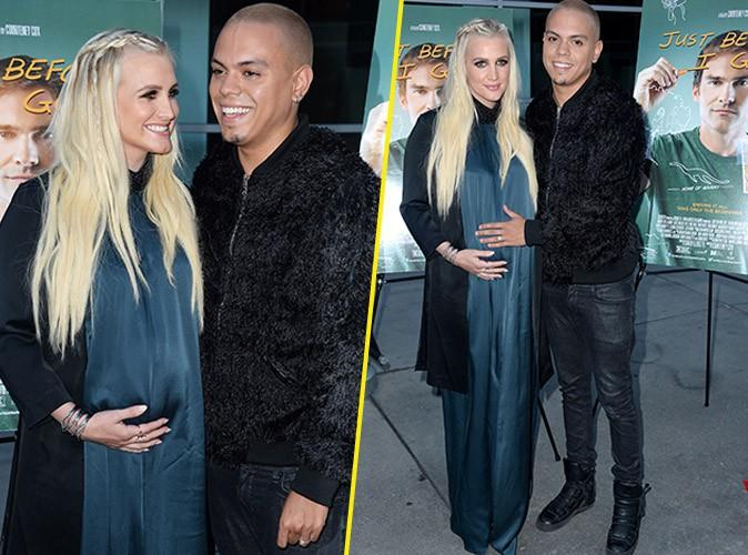 Ashlee Simpson enceinte : premier redcarpet glamour avant un accouchement imminent !