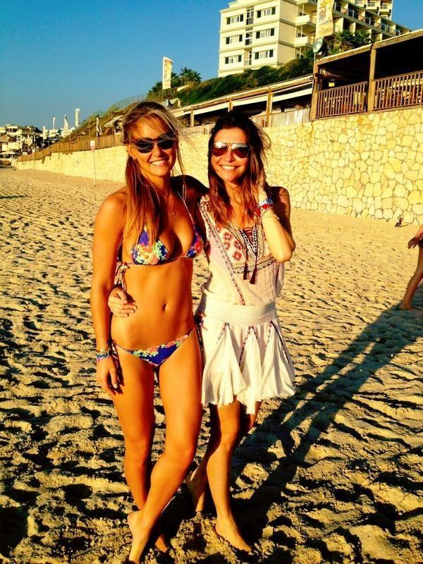 Bar et Valentina Micchetti, sa grande copine et mannequin elle aussi !