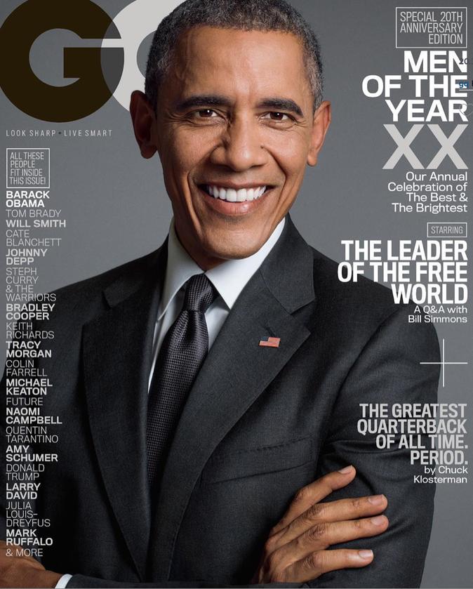 Barack Obama fait une nouvelle fois la couverture de GQ