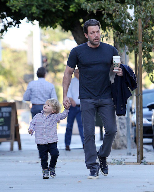 Ben Affleck : instants rares entre mecs avec son petit Samuel !