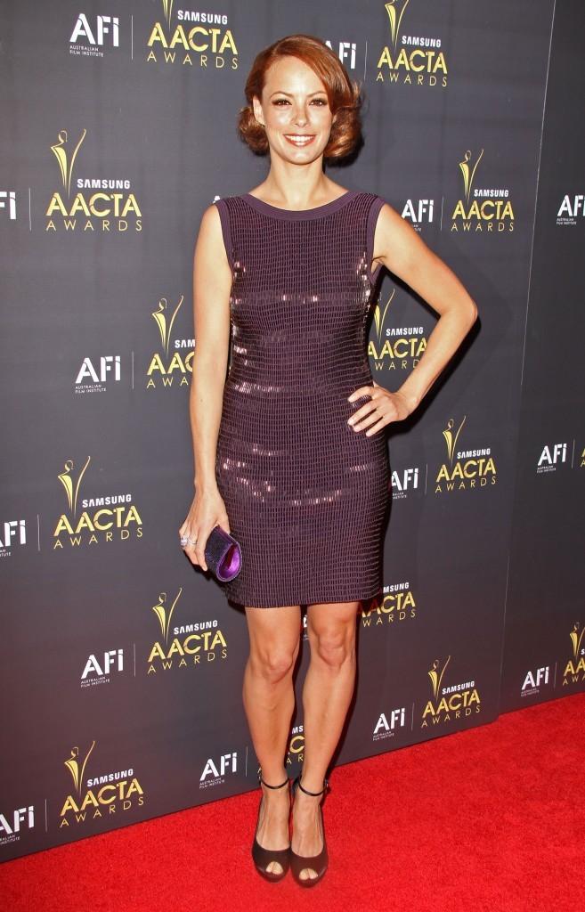 Bérénice Bejo à la cérémonie des AACTA