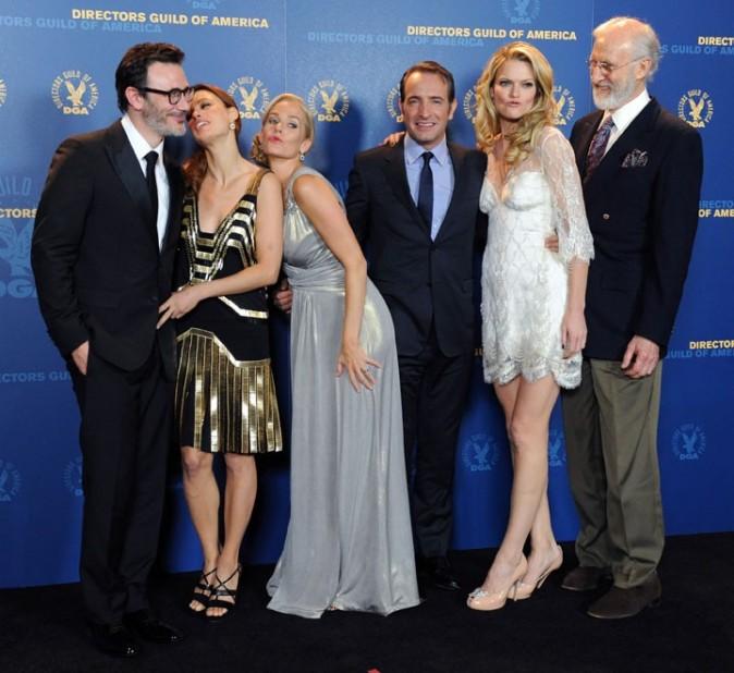 L'équipe de The Artist à la cérémonie des Directors Guild of America Awards