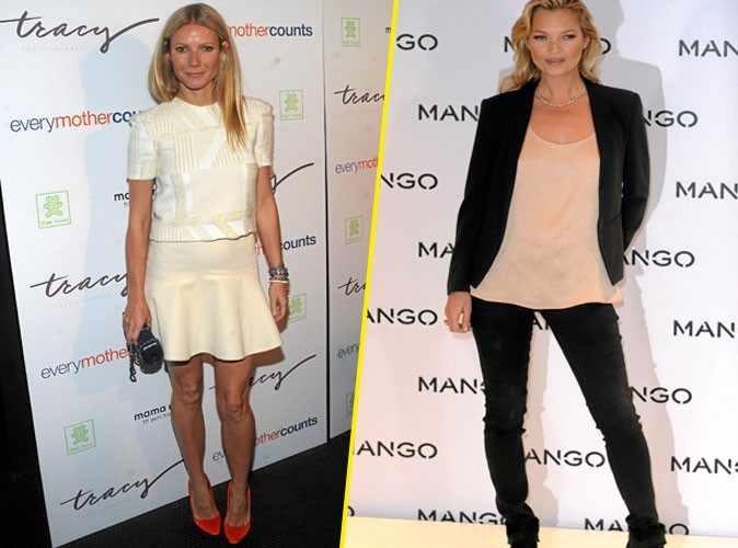 Kate Moss VS Gwyneth Paltrow