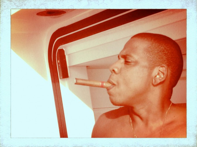 Jay-Z et son cigare !