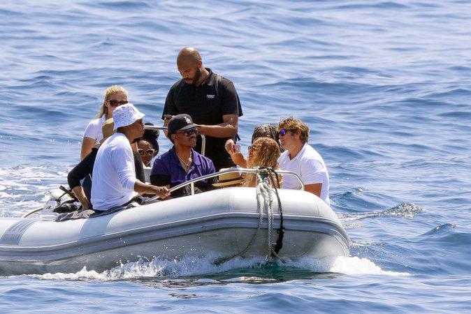 Ils ont pu profiter du soleil et de la douceur de la Méditerranée !