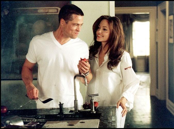 2005 : Brad Pitt et Angelina Jolie dans M&Mrs Smith