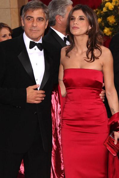 George Clooney et Elisabetta Canalis