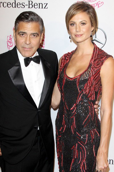 George Clooney et Stacy Keibler