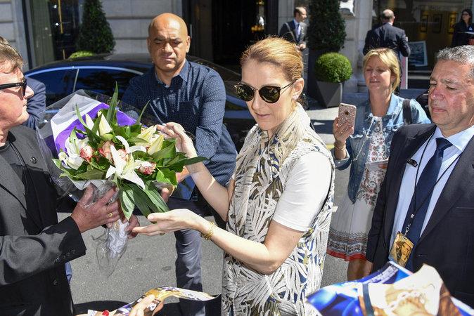 Céline Dion, toujours là pour ses fans