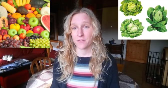 Pauline de la chaîne youtube Douce Frugalité présente son régime crudivorisme