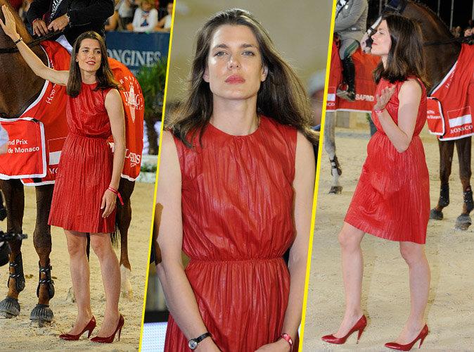Charlotte Casiraghi : Flamboyante et élégante lors de la remise de prix du Jumping de Monte Carlo !