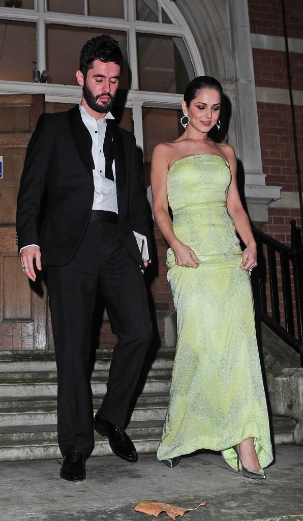 Cheryl et Jean-Bernard Fernandez-Versini le 27 novembre 2014