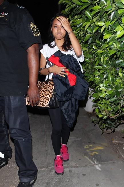 Karrueche Tran à Hollywood, le 6 juin 2012.