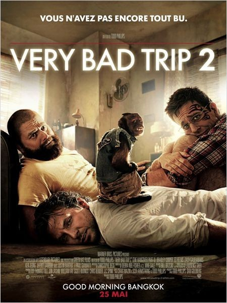 Very Bad Trip 2 : un quatuor totalement déjanté!