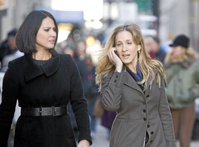 Sarah Jessica Parker toujours avec une amie