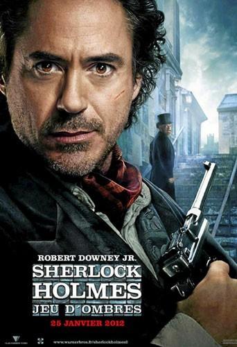 Sherlock Holmes : jeu d'ombres de Guy Ritchie avec Robert Downey Jr. , Jude Law et Noomi Rapace (2h09) : Génialissime !
