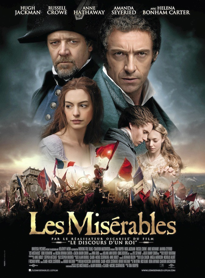 Les misérables de Tom Hooper