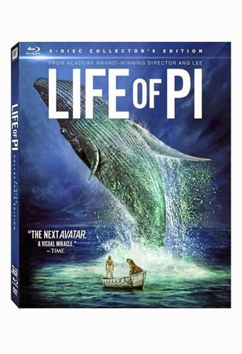 L'Odyssée de Pi d'Ang Lee avec Suraj Sharma, édition spéciale combi Blu-ray, Fox. 29,99 €.