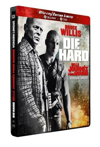 Die Hard 5 : Belle journée pour mourir Fox Pathé, combo Blu-Ray + DVD, édition limitée. 19,99 €.