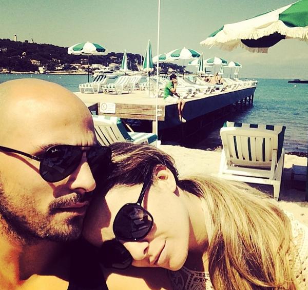 Photos : Clara Morgane : topless pour profiter de la French Riviera avec son homme !