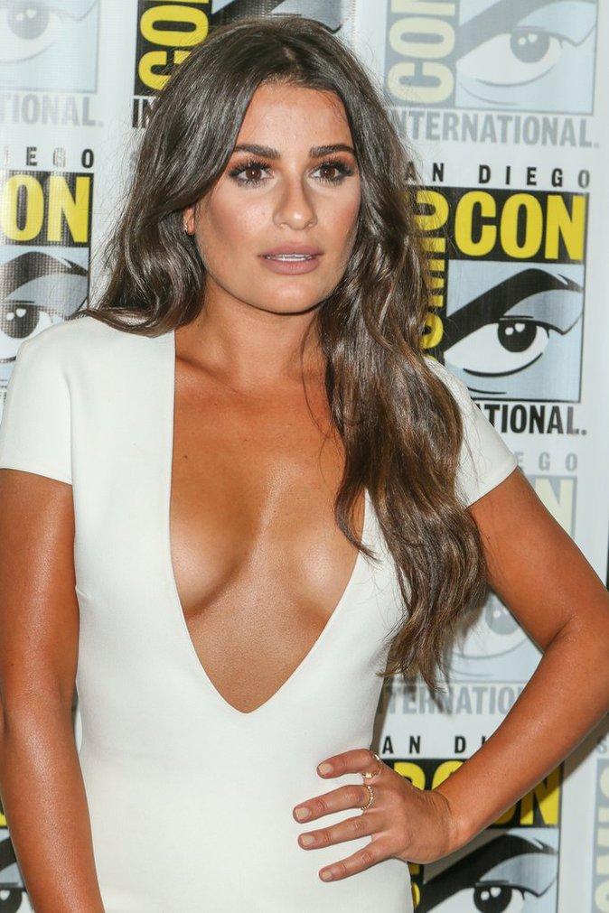 Lea Michele en bombe atomique au Comic-Con