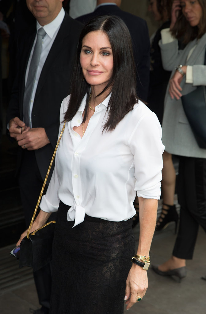 Courteney Cox : Transformée, elle admet regretter la chirurgie !