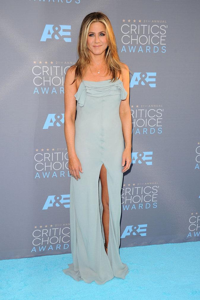 Jennifer Aniston a fait sensation aux côtés de Justin Theroux