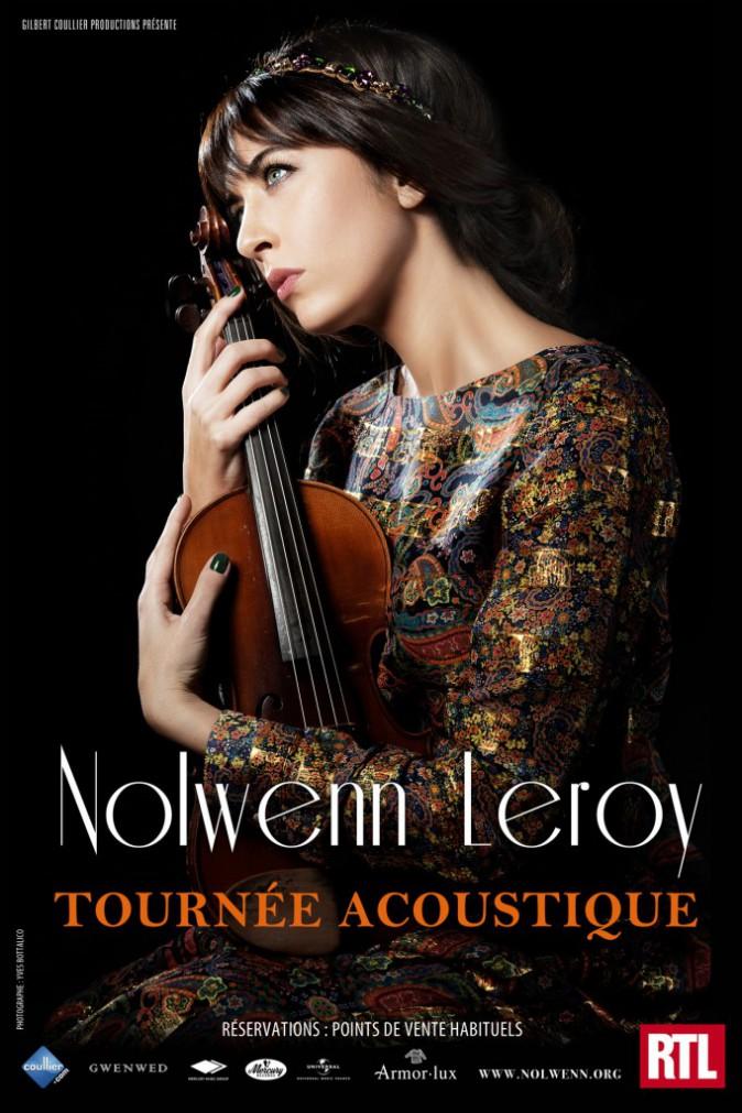 Nolwenn Leroy, tournée acoustique, en tournée dans toute la France jusqu'au 29 mai. Dès 14 € sur billetreduc.com.