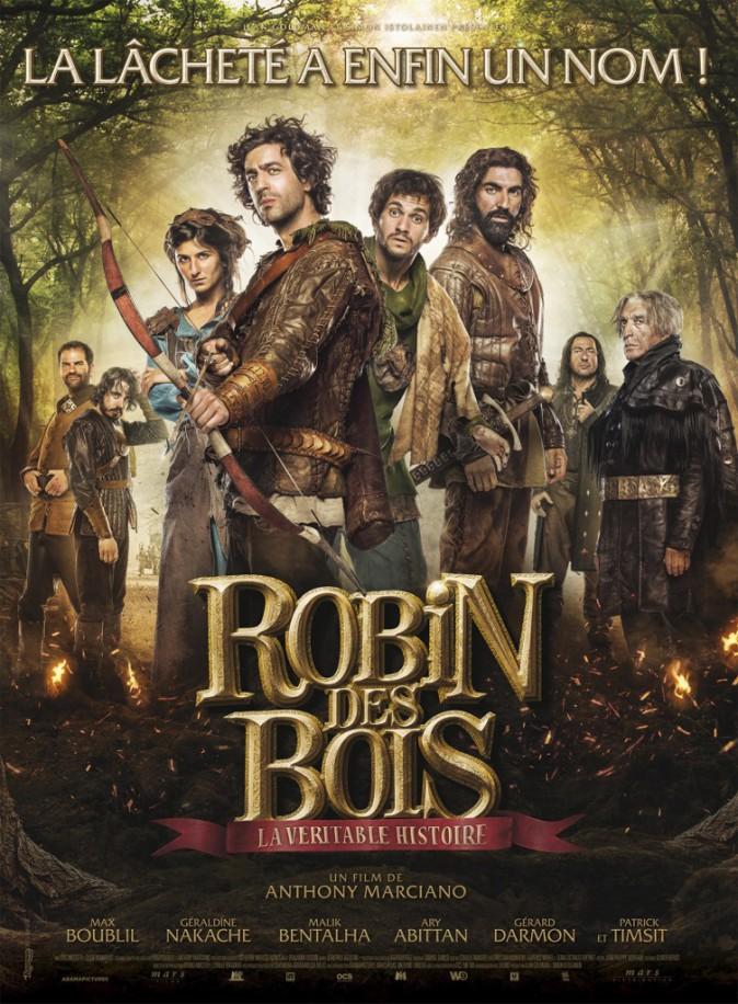 Robin des bois, la véritable histoire, d'Anthony Marciano avec Max Boublil (1h27). En sallEs lE 15/04/15