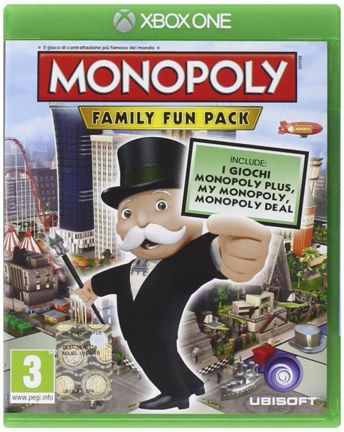 Monopoly Family Fun Pack, sur PS4 et Xbox One. 29,99 €.