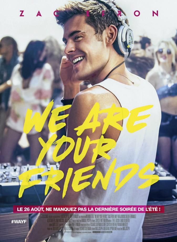 We Are Your Friends, de Max Joseph avec Zac Efron et Emily Ratajkowski (1 h 40).