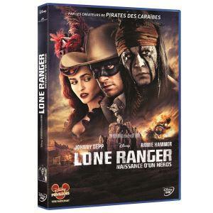Lone Ranger de Gore Verbinski avec Johnny Depp, Disney. 19,99 €.