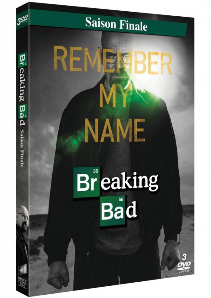 Breaking Bad, saison finale avec Bryan Cranston, SPHE, 29,99 €.
