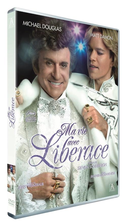 Ma vie avec Liberace de Steven Soderbergh, ARP. 19,99€.