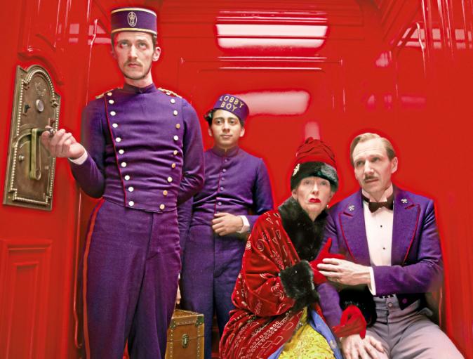The Grand Budapest Hotel de Wes Anderson avec Ralph Fiennes, Edward Norton et Tilda Swinton (1h39)