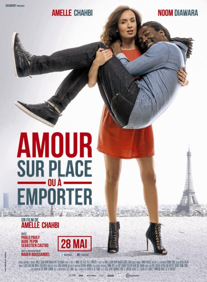 Amour sur place ou à emporter de et avec Amelle Chahbi, Noom Diawara et Fabrice Éboué (1h25)